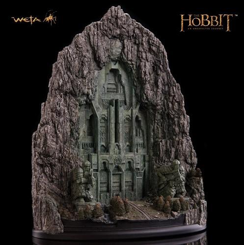 Maquete Portões De Erebor O Hobbit - The Hobbit - Weta