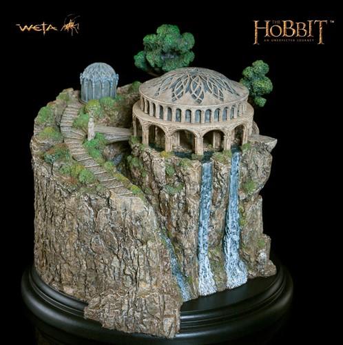 Câmara Do Conselho Branco - White Council Chamber - The Hobbit Weta