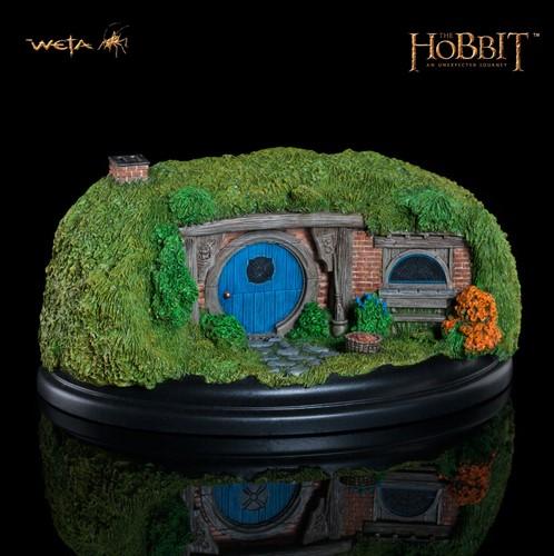 Vila Hobbit - Modelo 26 Gandalf´s Cutting The Hobbit Weta