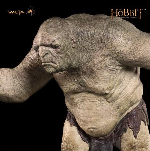 William - O Throll - The Hobbit - Uma Jornada Inesperada - Weta