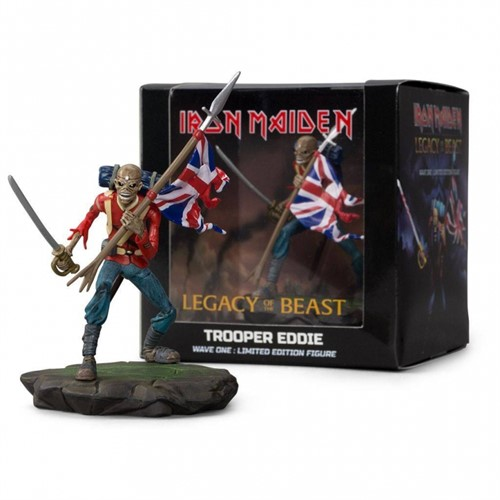 Eddie - Iron Maiden Legacy of the Beast Trooper Vinyl Figure