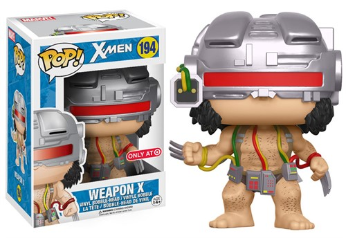 Weapon-X Wolverine Marvel - Funko POP Ecclusivo Target