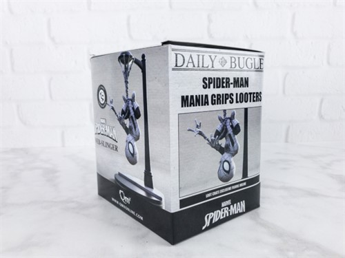 Spider-Man Homem-Aranha Daily Bugle MARVEL Q-Fig -QUANTUM MECHANIX Exclusivo Loot Crate