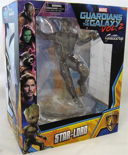 Star-Lord Estatua Marvel Gallery Guardiões da Galáxia Vol. 2 - Diamond Select Toys