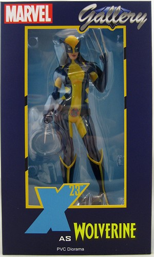 Laura Kinney X-23 Estátua Marvel Gallery - Diamond Select Toys