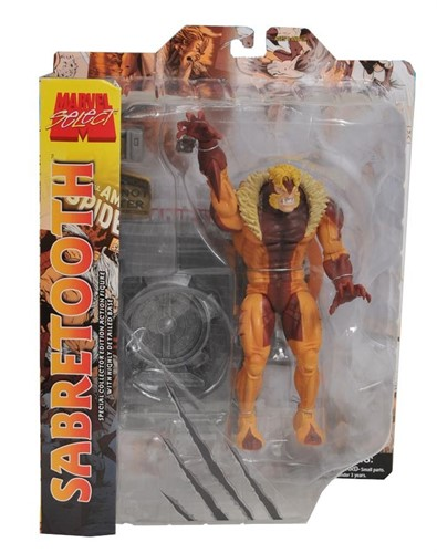 Sabretooth Dente De Sabre - Marvel Select - Diamond