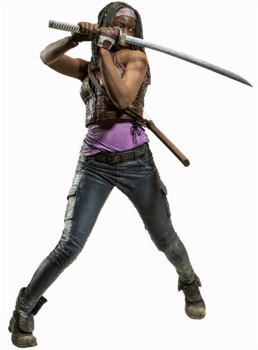 Michonne - The Walking Dead 25cm Deluxe - Mcfarlene Toys