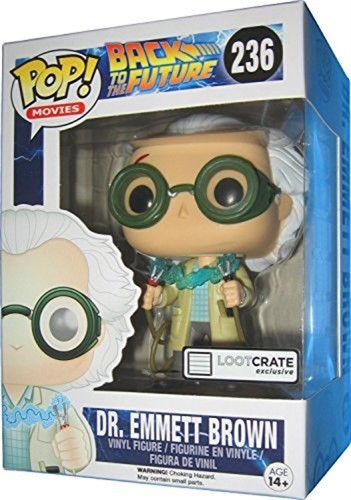 Dr Emmett Brown - De Volta para o Futuro - Funko POP EXCLUSIVO
