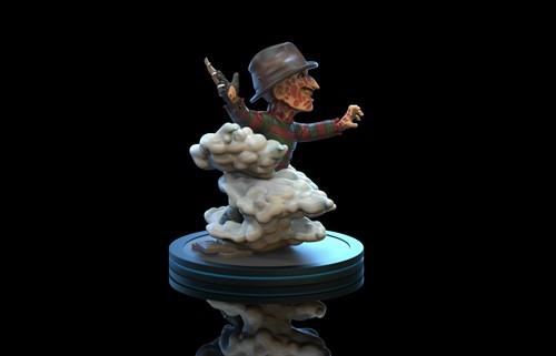 Freddy Krueger Q-Fig - Nightmare on Elm Street A Hora do Pesadelo - QUANTUM MECHANIX