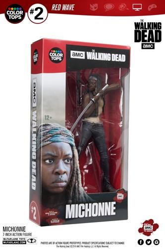 Michonne - The Walking Dead Action Figure - McFarlene Toys Color Tops Series