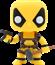 Deadpool Slapstick - Deadpool - Funko POP Marvel HOT TOPIC