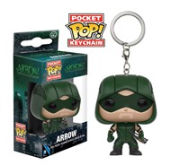 Arqueiro Verde - The Green Arrow DC Comics - Funko Pocket Chaveiro