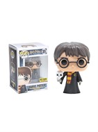 Harry Potter com Coruja Hedwig - Harry Potter - Funko POP Filmes HOT TOPIC