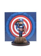 Capitão America Marvel - Q-Fig - QUANTUM MECHANIX