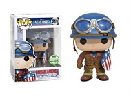 Capitão America - Primeiro Avenger - Funko POP Exclusivo 2017 SPRING CONVENTION
