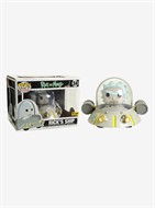 Rick Sanchez e Space Cruiser - Rick e Morty - Funko POP Rides EXCLUSIVO HOT TOPIC