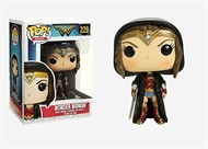 Wonder Woman c/ Capa Mulher Maravilha - Wonder Woman Movie - Funko POP Filmes