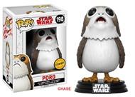 Porg - Star Wars VIII: The Last Jedi Os Últimos Jedi - Funko POP Bobble Head Chase Exclusivo