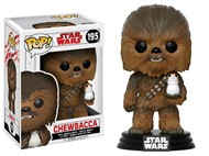Chewbacca c/ Porg - Star Wars VIII: The Last Jedi Os Últimos Jedi - Funko POP