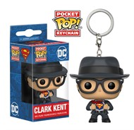 Superman Clark Kent DC Comics - Funko Pocket Chaveiro
