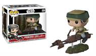 Leia no Speeder Bike Deluxe #228 Star Wars O retorno de Jedi - Funko POP
