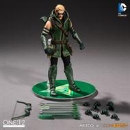 Green Arrow Arqueiro Verde - Escala 1/12 Action Figure - Mezco Toys