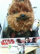 Chewbacca c/ Porg Pelúcia - Star Wars VIII: The Last Jedi Os Últimos Jedi - Comic Images