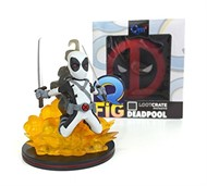 Deadpool Cinza MARVEL - Q-Fig - QUANTUM MECHANIX Exclusivo Loot Crate