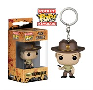 Rick Grimes Chaveiro - The Walking Dead - Funko Pop Pocket