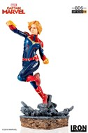 Captain Capitã Marvel BDS Art Scale 1/10 - Captain Marvel - IRON STUDIOS