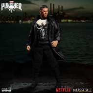 The Punisher O Justiceiro MARVEL Netflix - Escala 1/12 Action Figure - Mezco Toyz