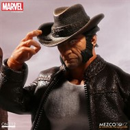 Logan - Wolverine MARVEL - Escala 1/12 Action Figure - Mezco Toyz