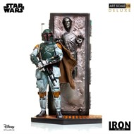 Boba Fett & Han Solo in Carbonite Deluxe Art Scale 1/10 - Star Wars - IRON STUDIOS