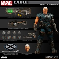 Cable - X-Men MARVEL - Escala 1/12 Action Figure - Mezco Toys
