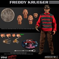 Freddy Krueger A Nightmare on Elm Street Hora do Pesadelo - Escala 1/12 Action Figure - Mezco Toys