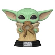 Yoda Child Criança c/ sapo - Star Wars: The Mandalorian - Funko POP Star Wars Disney