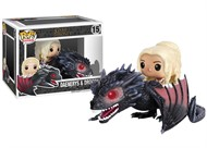 Daenerys e Drogon - Game of Thrones - Funko Pop Ridez