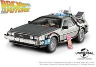 Delorean Time Machine com Mr. Fusion - De volta para o Futuro - Hot Wheels Elite 1:18