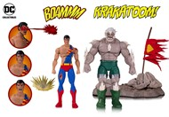 Superman vs Apocalipse Batalha Deluxe Pack com 2 figuras - DC Comics