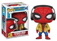 Spider-Man com fone - Spider-Man Homecoming - Funko POP MARVEL