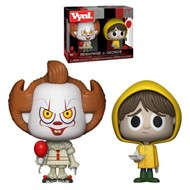 IT Pennywise e George Figura Pack-2 - Funko VYNL