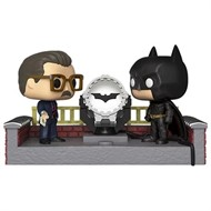 Batman Light-Up Bat Sinal 80º Aniversário DC COMICS Funko Pop Movie Moment