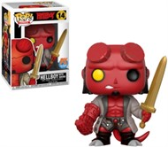 Hellboy com Excalibur - Previews Exclusivo - Funko POP Comics