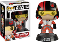 Poe Dameron Star Wars - O Despertar da Força - Funko POP Bobble Head