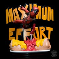 Deadpool Maximum Effort Q-Fig Max Diorama - QUANTUM MECHANIX