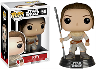 Rey - Star War - O Despertar da Força - Funko POP Bobble Head
