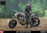 Daryl Dixon nova moto - The Walking Dead Series - Deluxe Box Set McFarlane Toys