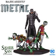 Who Laughs Joker e Robin Minions Deluxe DARK NIGHTS: METAL THE BATMAN  - DC Collectibles