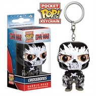 Crossbones - Guerra Civil - Funko Pop Pocket Chaveiro