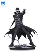 Who Laughs Estatua Batman Black and White DC Comic - DC Collectibles